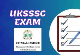 UKSSSC EXAMS