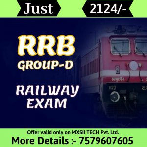 mxsii tech rrb groupd course
