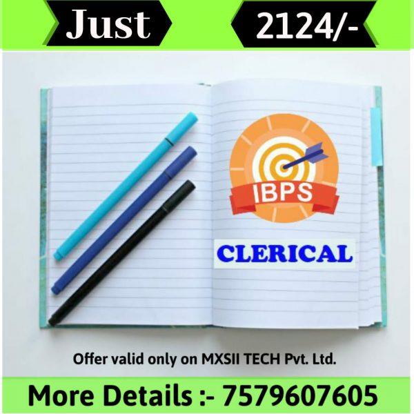 mxsii tech ibps clerk course